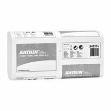 Полотенца-вкладыши W-образ 2-слой KATRIN PLUS ONE STOP M2  белые 250х235мм (145 шт)