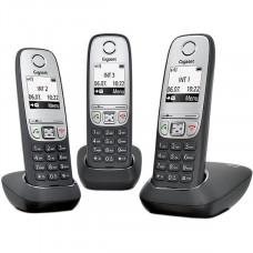 Радиотелефон Gigaset A415 Trio Black (L36852H2505S311)