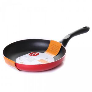 Сковорода ACTUEL d-24 см с антиприг. покр., цвет красный, без крышки
