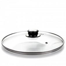 Крышка для сковороды d-24 см., с мет. ободком