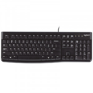 Клавиатура Logitech K120 Ukr USB Black (920-002643)