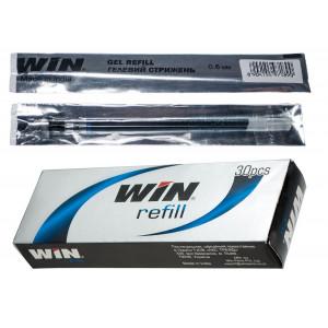 Стержень гелевый (для ручек WIN QBE/X-Ten/Flower) 0.6 мм, 130 мм, черный