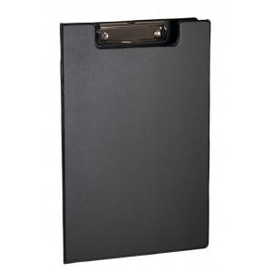 Папка-планшет с верхним зажимом ПВХ (А4) 4OFFICE 4-258 (клипборд) черная