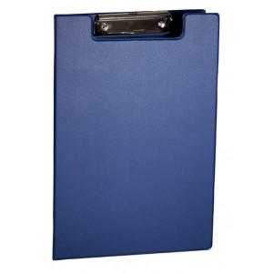 Папка-планшет с верхним зажимом ПВХ (А4) 4OFFICE 4-258 (клипборд) синяя