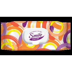 Салфетки влажные SMILE DECOR (60 шт)
