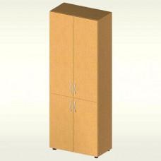 Шкаф для документов закрытый (700х347х1825) БЮ406 (бук бавария)