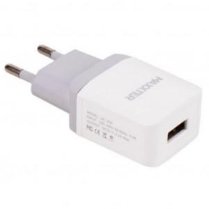 Зарядное устройство Maxxter 1 USB, 5V/2.1A (UC-24A)