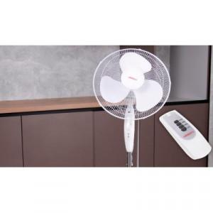 Вентилятор напольный ARDESTO FN-R1608RW белый с ДУ