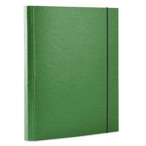 Папка на резинке картон (A4) Donau 40 мм зеленая (2076001PL-06)