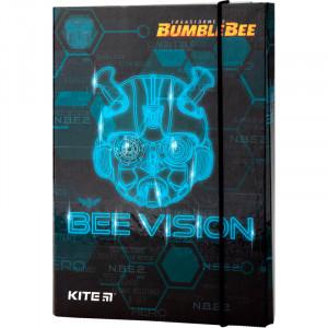 Папка для тетрадей на резинке картон В5 Kite Transformers (TF19-210)