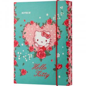Папка для тетрадей на резинке картон В5 Kite Hello Kitty (HK19-210)