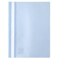 Скоросшиватель пластик. с прозр. верхом А4 (глянец) светло-голубой AXENT (1317-07-A)