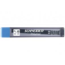 Грифели для механических карандашей 0,5 мм, HB, SCHNEIDER (12 шт) (S158114)