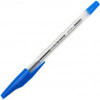 Ручка шариковая 0,5 мм синие чернила 4OFFICE 4-112