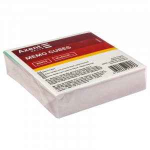 Бумага для записей белая несклеен 80 х 80 х 20 мм Axent (d8001)