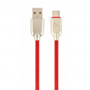 Кабель Cablexpert USB 2.0 AM/CM Red 1м (CC-USB2R-AMCM-1M-R)