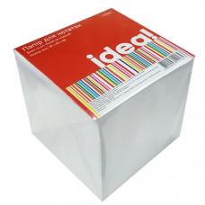 Бумага для записей белая несклеен 85 х 85 мм 800 л, 80 г/м кв IDEA! Lux