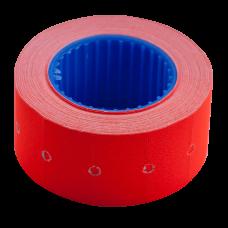 Ценники прямоугольные, 22 х 12 мм (500 шт, 6 м), красные, внешняя намотка (BM.282101-05)