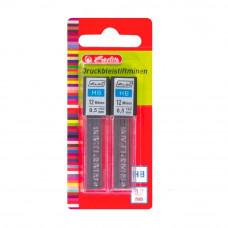 Грифели для механических карандашей 0,5 мм, HB, HERLITZ (24 шт)
