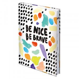 Ежедневник недатированный А5 BRUNNEN Агенда Графо Be brave BBH (73-796 68 06)