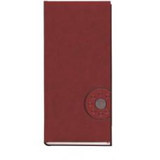 Алфавитная книга 135 х 285 мм 176 л обложка баладек бордовая (213 05Б)