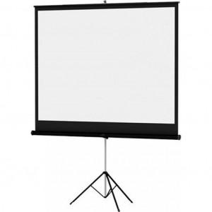 Проекционный экран Projecta Da-Lite Versatol мобильный напольный (1:1) 152 x 152 Matte White (72262C)