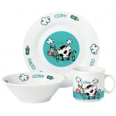 Набор посуды детской Limited Edition Cow 3 предмета (D1215)