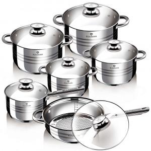 Набор посуды из нержавеющей стали 12 пр Blaumann BL-1031