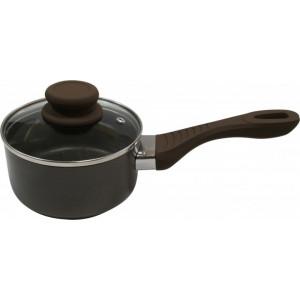 Ковш Lessner Chocolate Line с крышкой 1 л, 14 см (88364-14)