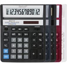 Калькулятор BDC-712 GL BX 12 разр 203 x 158 x 15(31) мм (аналог SDC-888 и 444)