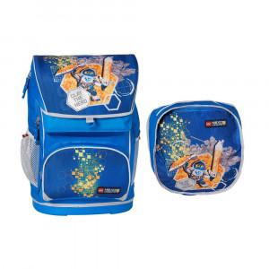 Ранец школьный Лего Некзо Найтс с сумкой д/об 28л (20013-1708)