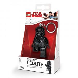 Брелок-фонарик Лего Звездные войны Пилот штурмовика (LGL-KE113)