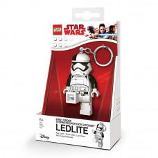 Брелок-фонарик Лего Звездные войны Штурмовик I орд. (LGL-KE115)