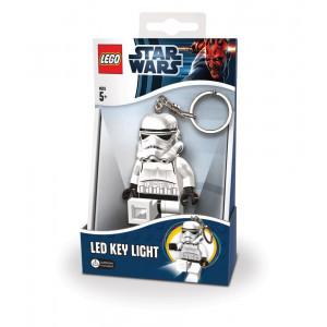 Брелок-фонарик Лего Звездные войны Штурмовик (LGL-KE12)