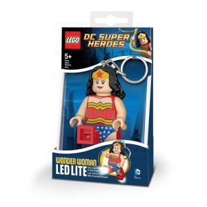 Брелок-фонарик Лего Супергерои Чудо-женщина (LGL-KE70)