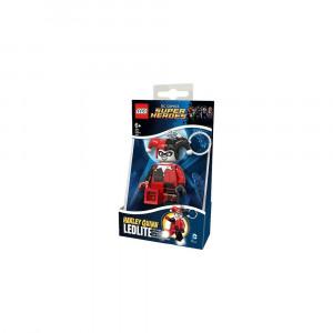 Брелок-фонарик Лего Супергерои Харли Квинн (LGL-KE81)