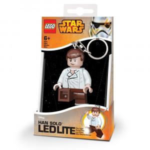 Брелок-фонарик Лего Звездные войны Хан Соло (LGL-KE82)