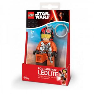 Брелок-фонарик Лего Звездные войны По Дамерон (LGL-KE95)