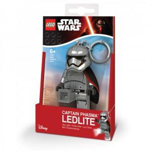 Брелок-фонарик Лего Звездные войны Капитан Фазма (LGL-KE96)