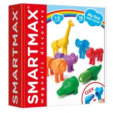 Магнитный конструктор Smartmax Мои первые дикие животные (SMX 220)