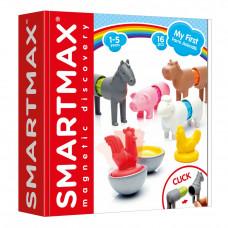 Магнитный конструктор Smartmax Мои первые животные (SMX 221)