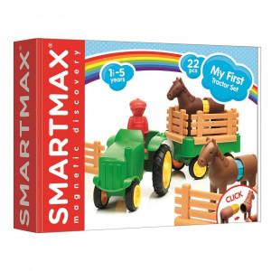 Магнитный конструктор Smartmax Мой первый трактор (SMX 222)
