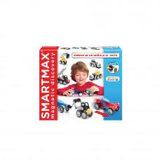 Магнитный конструктор Smartmax Мощные машины (микс) (SMX 303)