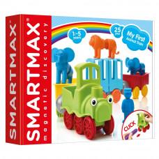 Магнитный конструктор Smartmax Мой первый поезд с животными (SMX 410)