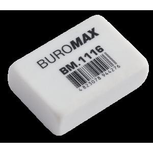 Ластик для карандашей BUROMAX (26 х 18 х 8 мм) Dust-free (BM.1116)