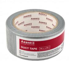 Скотч армированный 48 мм х 25 м 150 мкм серебряный Axent (3048-A)