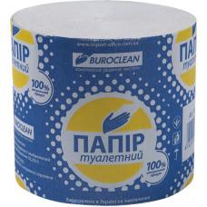 Бумага туалетная 1слойн Buroclean 39 М серая без гильзы (УПАКОВКА - 10 ШТУК) (10100001)