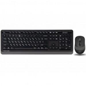 Комплект (мышь+клавиатура) A4tech FG1010 Grey