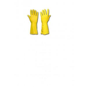 Перчатки латексные (универсальные) L-9 Z-BEST Standart (прочные ЖЕЛТЫЕ) (45099)