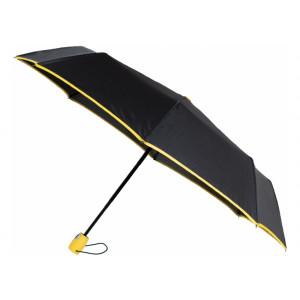 Зонт автомат. Economix HANDY, 8 спиц, цвет: черно-желтый (E98404-05)